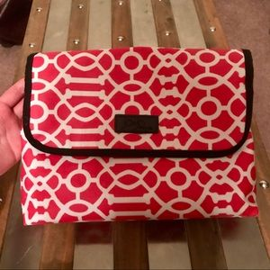 Handbags - Cosmetic bag with multiple pouches